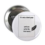 """Blank Page 2.25"""" Button (100 pack)"""