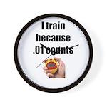 I Train Wall Clock