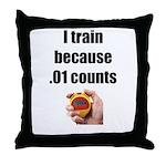 I Train Throw Pillow