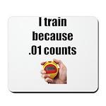 I Train Mousepad