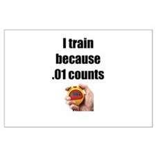 I Train Large Poster