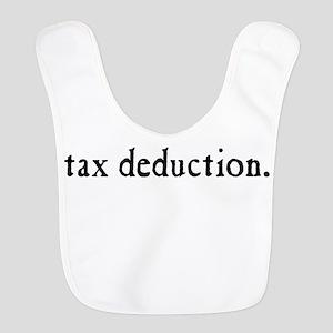 Tax Deduction Polyester Baby Bib