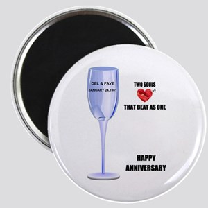 DEL AND FAYE ANNIVERSARY GIFTS Magnet