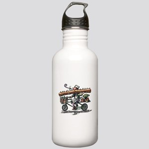 Sandwich Delivery Man Stainless Water Bottle 1.0L