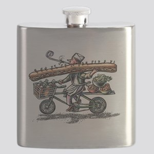 Sandwich Delivery Man with Huge Sub Flask