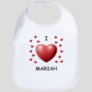 I Love Mariah - Bib