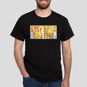 firefighter back flame T-Shirt