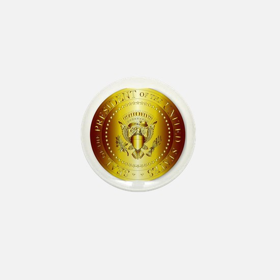 Funny Presidential seal Mini Button