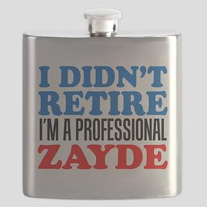 Didn't Retire Professional Zayde Flask