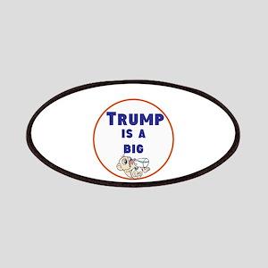 Trump is a big baby. no Trump Patch
