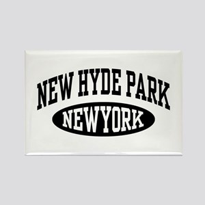 New Hyde Park NY Rectangle Magnet
