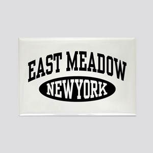 East Meadow NY Rectangle Magnet
