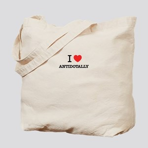 I Love ANTIDOTALLY Tote Bag
