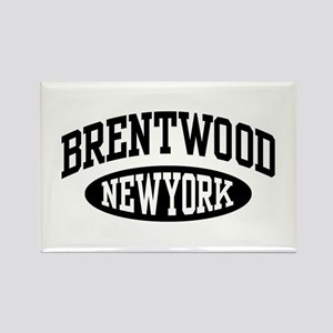 Brentwood NY Rectangle Magnet