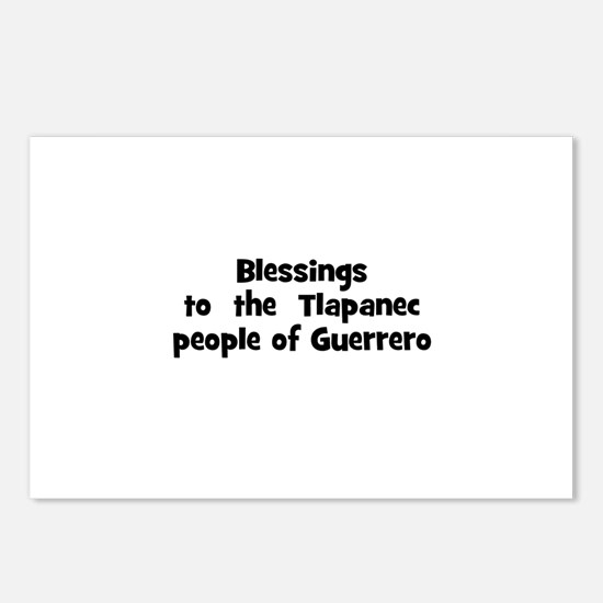 Blessings  to  the  Tlapanec  Postcards (Package o
