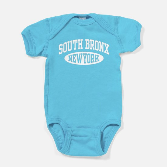 South Bronx NY Baby Bodysuit