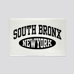 South Bronx NY Rectangle Magnet