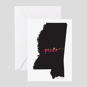 Mississippi Pride Greeting Card