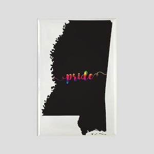 Mississippi Pride Rectangle Magnet