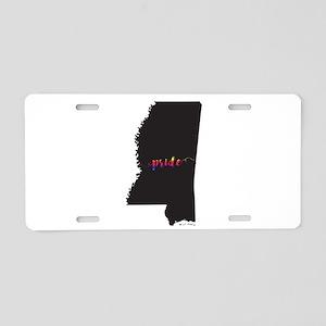 Mississippi Pride Aluminum License Plate