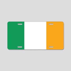 The Irish Tricolour -- flag Aluminum License Plate