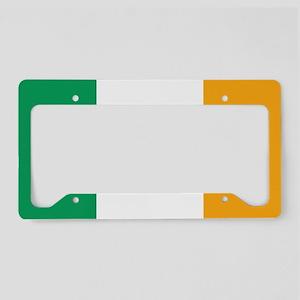 The Irish Tricolour -- flag o License Plate Holder