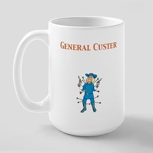 General Custer Large Mug
