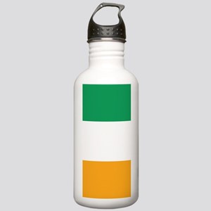 Vertical Irish Tricolo Stainless Water Bottle 1.0L