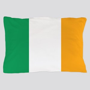 Irish Tricolour Square - flag of Irela Pillow Case