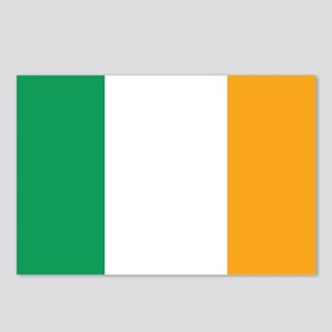 Irish Tricolour Square - Postcards (Package of 8)
