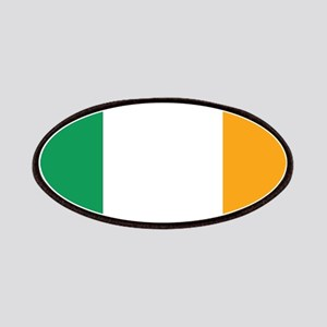 Irish Tricolour Square - flag of Ireland Patch