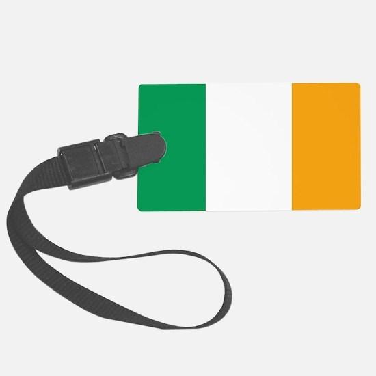 Irish Tricolour Square - flag of Luggage Tag