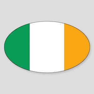 Irish Tricolour Square - flag of Ireland Sticker