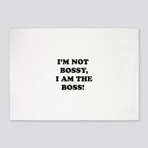 I'm The Boss 5'x7'Area Rug