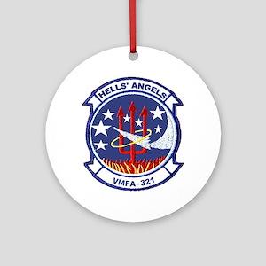 VMFA 321 Hells Angels Ornament (Round)