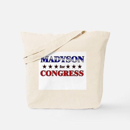 MADYSON for congress Tote Bag