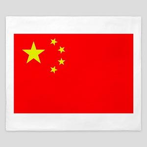 FLAG OF CHINA King Duvet