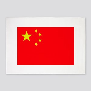 FLAG OF CHINA 5'x7'Area Rug