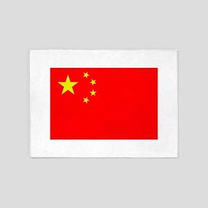 FLAG OF CHINA 5'x7'Area Rug