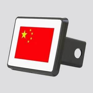 FLAG OF CHINA Rectangular Hitch Cover