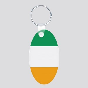 Vertical Irish Tricolour -- the flag of Keychains