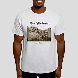 MountRushmore_15x15_v2_Black T-Shirt