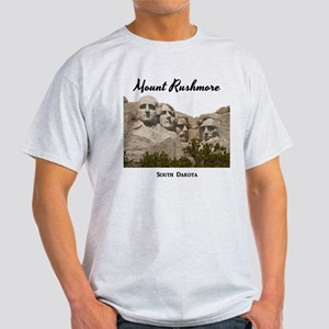 MountRushmore_15x15_v2_Black T-Shirt