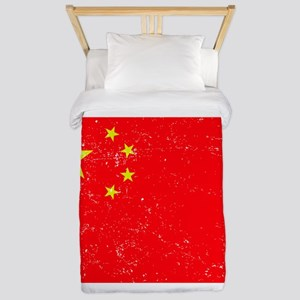 FLAG OF CHINA Twin Duvet