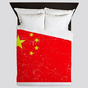 FLAG OF CHINA Queen Duvet