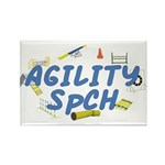 SpCH Agility Title Rectangle Magnet (10 pack)