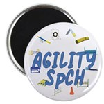 SpCH Agility Title Magnet
