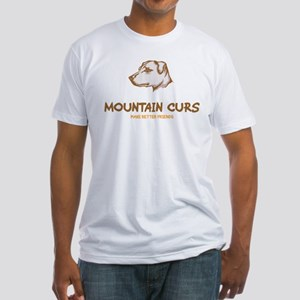 Mountain Cur Fitted T-Shirt