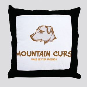Mountain Cur Throw Pillow