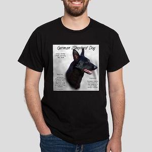 Black GSD T-Shirt